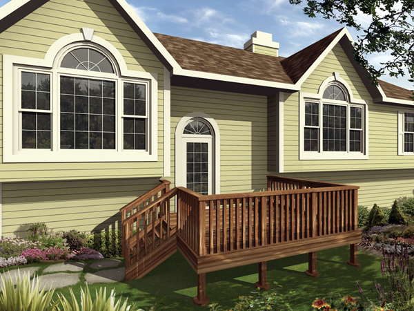 Expandable Wood Decks Available For Building In Six Sizes