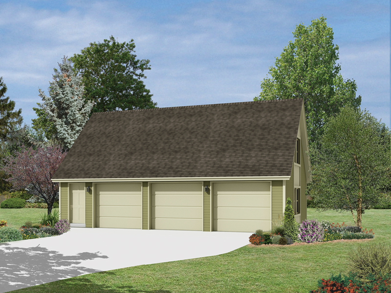 Loni 3 Car Garage Plan 002d 6044 House Plans And More