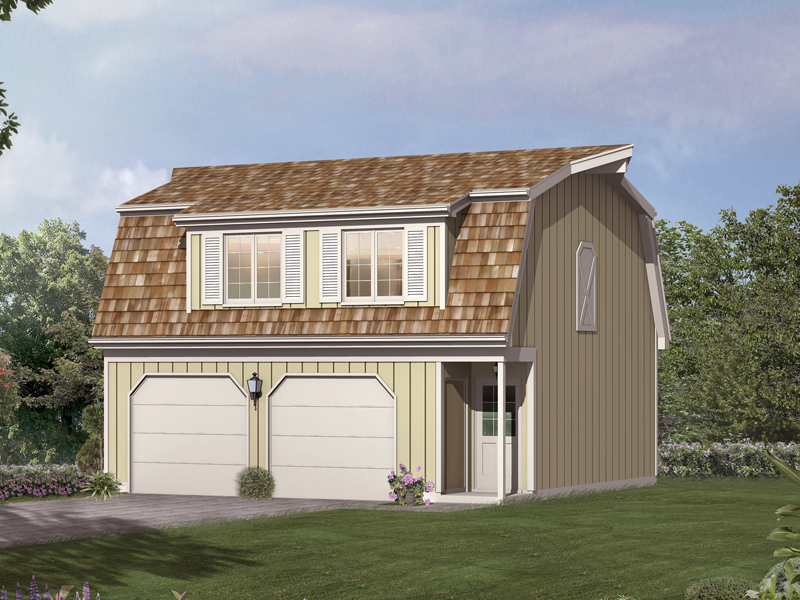 Phylicia Barn Garage Apartment Plan 002D-7524 | House Plans ...