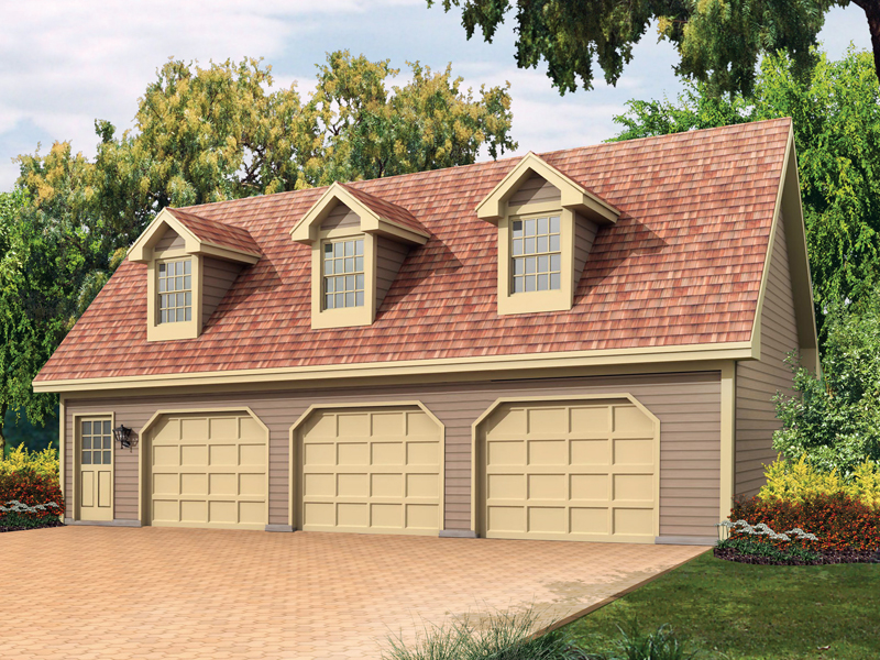 Liesel Garage Apartment Plan 002D-7530 | House Plans and More