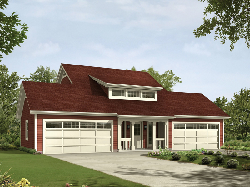Caryville Apartment Garage Plan 007D-0194 | House Plans and More