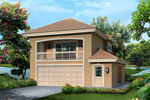 Fresno Bay Apartment Garage Plan 007D-0242 | House Plans ...