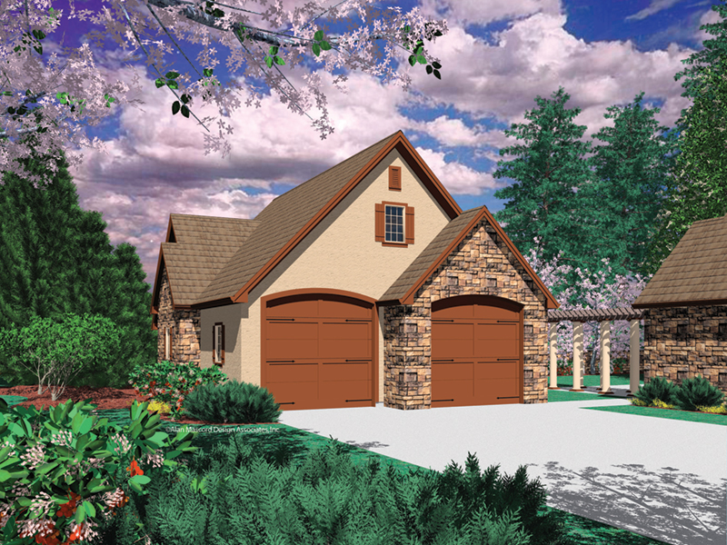 Building Plans Front of Home - 012D-6007 | House Plans and More