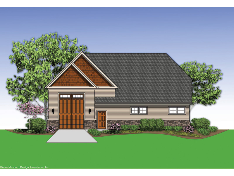 Building Plans Rear Photo 01 -  012D-6008 | House Plans and More