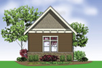 Building Plans Rear Photo 01 - 012D-6010 | House Plans and More