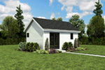 Ranch House Plan Front Photo 02 - Moorpark Modern Studio 012D-7507 | House Plans and More