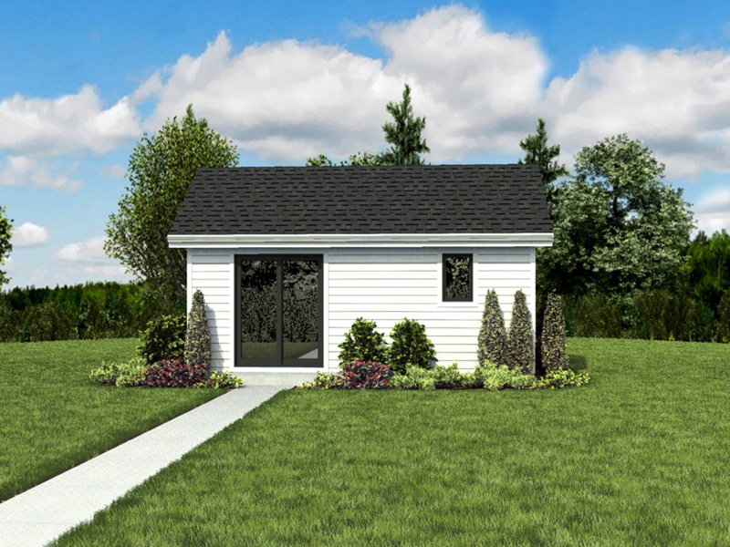 Ranch House Plan Front Photo 06 - Moorpark Modern Studio 012D-7507 | House Plans and More