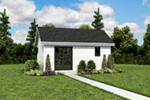 Ranch House Plan Front Photo 07 - Moorpark Modern Studio 012D-7507 | House Plans and More