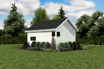 Ranch House Plan Side View Photo 01 - Moorpark Modern Studio 012D-7507 | House Plans and More