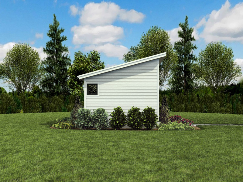 Building Plans Front Photo 04 - Morrow Modern Studio 012D-7508 | House Plans and More