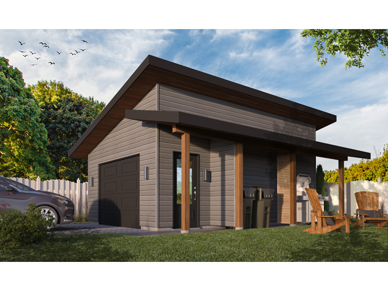 Building Plans Front Photo 01 - Chandler Lane 032D-1005 | House Plans and More