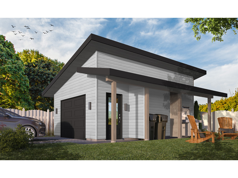 Building Plans Front Photo 02 - Chandler Lane 032D-1005 | House Plans and More