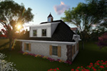 Building Plans Rear Photo 01 -  051D-0918 | House Plans and More