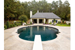 Building Plans Front Photo 01 - Cabana Cove Poolside Structure 055D-1029 | House Plans and More