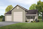 Building Plans Front of Home -  059D-6097 | House Plans and More