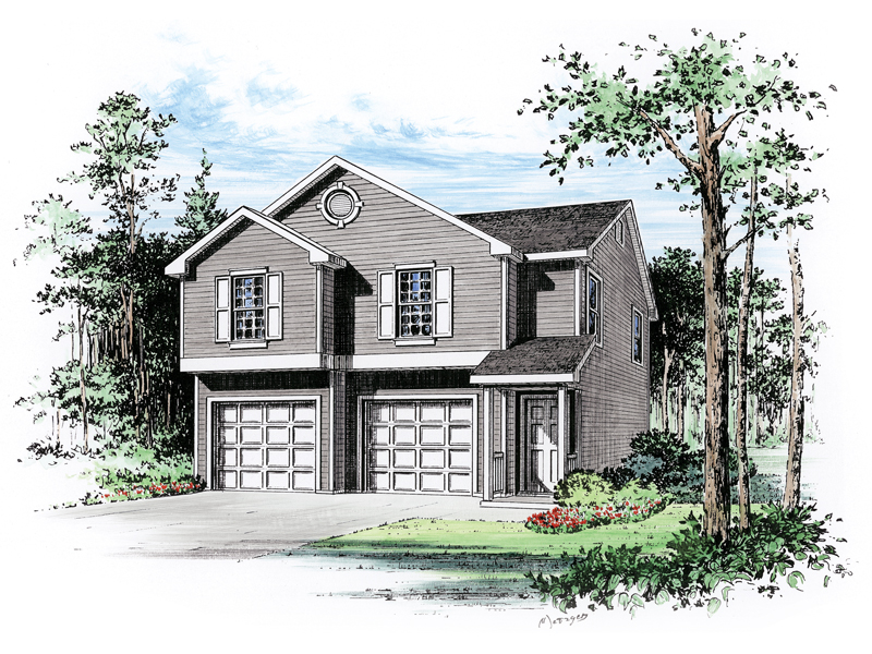 Payton Two-Car Garage Apartment Plan 059D-7503 | House Plans ...