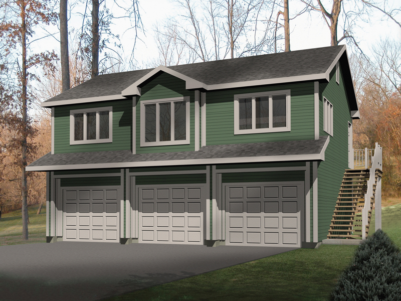 Laycie 3-Car Garage Apartment Plan 059D-7504 | House Plans ...