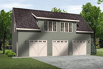 Building Plans Front of Home -  059D-7517 | House Plans and More