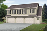 Building Plans Front of Home -  059D-7520 | House Plans and More