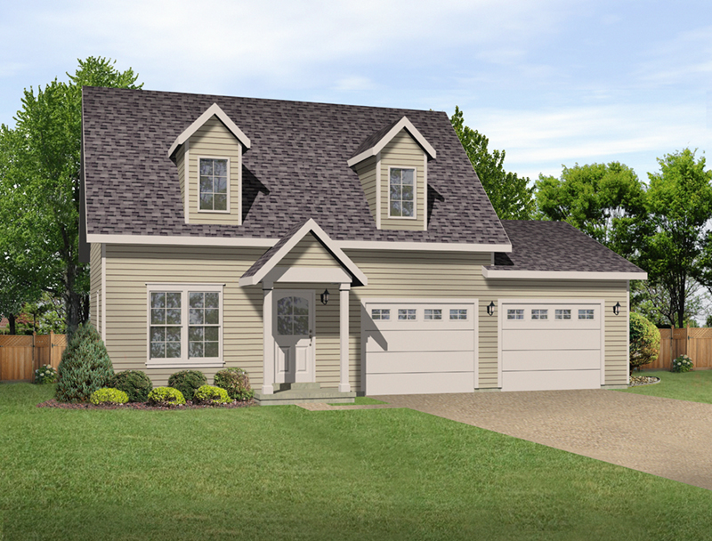 Building Plans Front of Home -  059D-7522 | House Plans and More