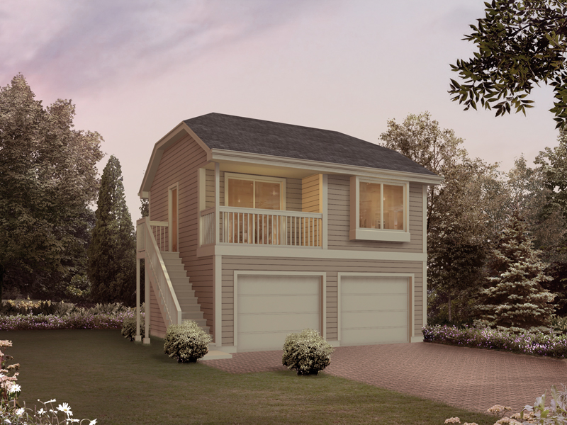 Two-Story Garage Apartment Plans | 2-Story Garage Apartment ...