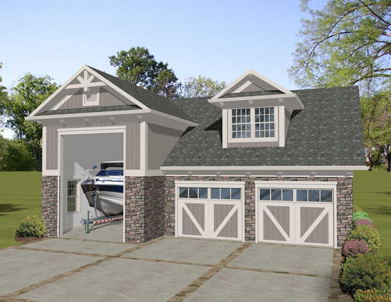 Building Plans Front of Home - 108D-7511 | House Plans and More