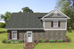 Building Plans Rear Photo 01 - 108D-7511 | House Plans and More