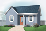 Building Plans Front of Home - Laurie Playhouse Shed 113D-4510 | House Plans and More