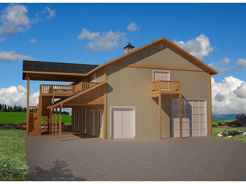 Building Plans Front Photo 01 -  133D-7510 | House Plans and More