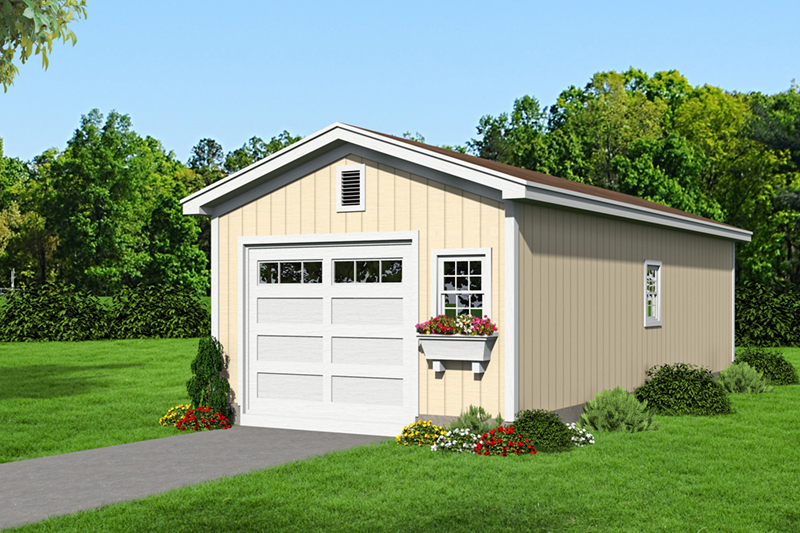 Building Plans Front of Home -  142D-6012 | House Plans and More