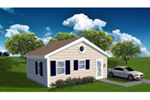 Building Plans Front of Home -  142D-7522 | House Plans and More