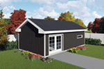 Building Plans Front of Home -  165D-4500 | House Plans and More