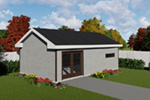 Building Plans Front Photo 01 -  165D-4500 | House Plans and More