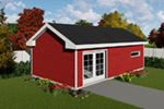 Building Plans Front Photo 03 -  165D-4500 | House Plans and More